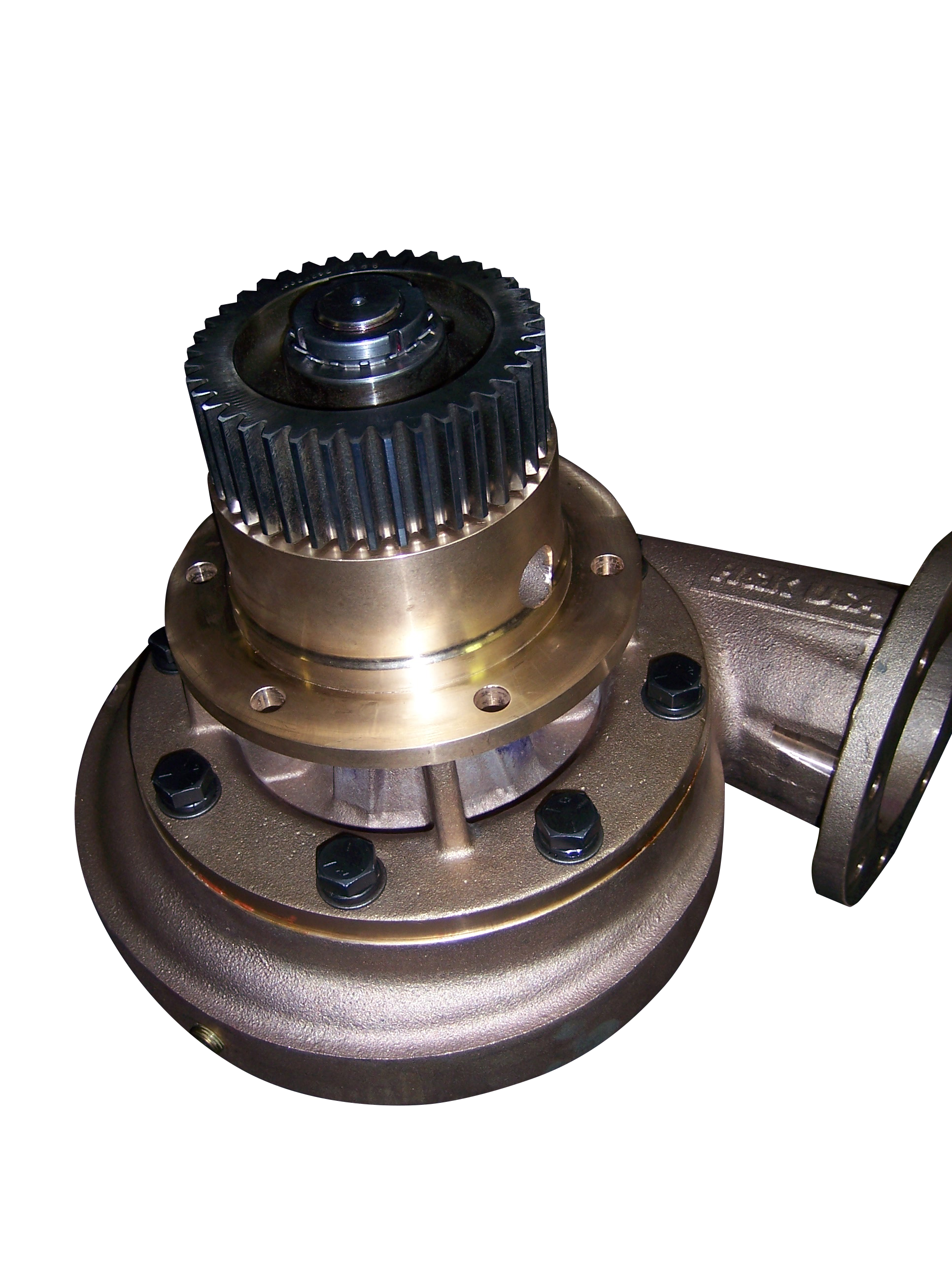 EMD Water Pumps for Locomotive, Marine, and Industrial Applications - H&K